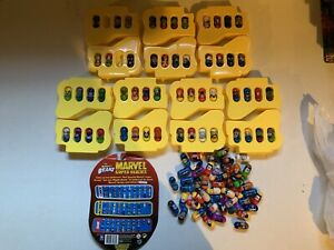 2003 Marvel Mighty Beanz Series 1, Almost Complete 54 Of 56. 48 Extras Lot Set