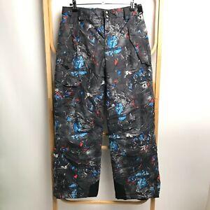 Columbia   Size 14/16   Girl's Sow Ski Pants Multicoloured Adjustable Waist