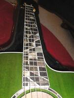 Taylor Rick Nielsen Signature Model LTD Guitar RNSM 615CE Jumbo Green 1 of 33