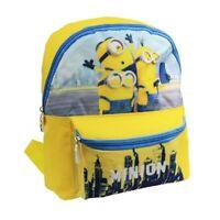 Minions Kinder-Rucksack Kindergarten-Tasche Gelb NEU