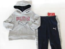 Puma Baby Boys 2pc Set: Joggers & Graphic Hoodie Jacket  size 12 Months