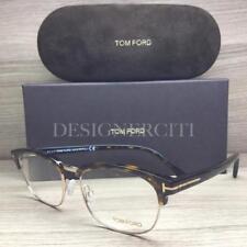 3d6fc86bf19 Tom Ford TF5458 5458 Eyeglasses Dark Havana Gold 052 Authentic 53mm