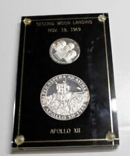 1969 Apollo 12 LIMITED EDITION PROOF SET , Medals With Case