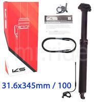 Kind Shock KS 2020 Rage-i 100mm Dropper Seatpost with Remote 31.6 x 342mm