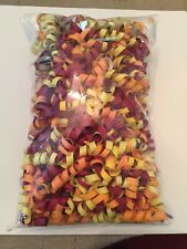 Card Stock Curly Shreds for Gift Bags, Shipping, Decor - Handmade - Fall Colors