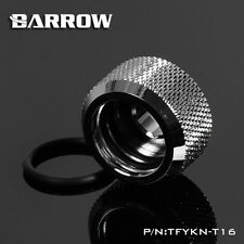 Barrow 'Choice' Hard Tube Compression Fitting for 16mm Tubing - Silver - 266