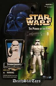 Star Wars 1997 POTF2 Imperial Stormtrooper ANH ESB ROTJ Rogue One Scarif E-11