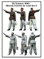 1 35 scale resin model figures kit SS tankman