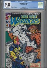 New Warriors #17 CGC 9.8 1991 Marvel: Silver Surfer App: PGX 9.9 Re-Graded CGC