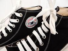 Converse Chucks Stoff Schwarz Gr. 41 /6,5  All Star Hohe Schnür Halb Schuhe