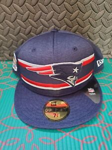 New England Patriots Thanksgiving 2019 New Era 59Fifty Fitted Hat  Size 7 1/4
