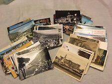(270+) 1920-1970s Unused European Postcard Collection RPPC RP Linen Colored