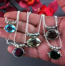 Topaz Sterling Silver Fine Necklaces & Pendants