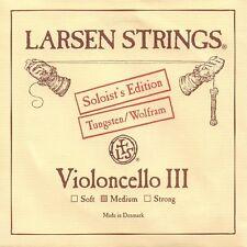 Larsen Strings Cello Soloist's Tungsten Cello G String-- Medium