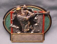 lacrosse full color 3D resin plate trophy award