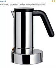 Alessi - Coffee.it, Espresso Coffee Maker by Wiel Arets