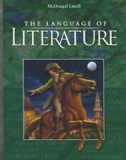 McDougal Littell Language of Literature: Student Edition Grade 8 2001