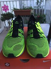 Nike Flyknit Trainer 2012 London Olympics Volt Black 532984-700 Sz 12