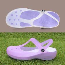 New Womens Sandals Color Change Candy Shoes Summer Croc Beach Shoes Flat Sandals