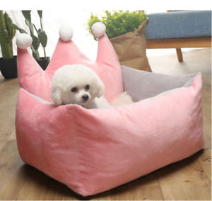 Self-Warming Cats Dogs Crown Sofa Bed Nesting Free shipping S,M,L(D35)