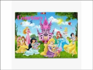 80 Pieces A5 Jigsaw Puzzle - Lockdown Kids Game personalised disney princess
