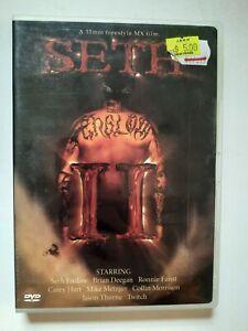 Seth II DVD - Seth Enslow - Freestyle Motocross - V/G Condition, Free Post R:ALL