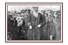 PHOTO TAKEN FROM A 1910 IMAGE OF GEN BOOTH VISIT TO HAVERHILL  - SALVATION ARMY