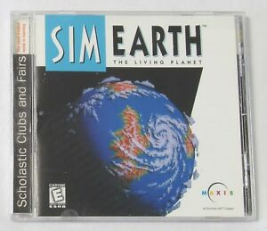 SIM Earth - The Living Planet (1998, PC / MAC ) Computer Video Game Maxis