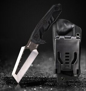 Multifunction Fixed Blade Survival Emergency Rescue Bugout Bush Full tang Blade