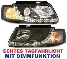 LED SCHEINWERFER VW PASSAT 3B 96-00 B5 mit TAGFAHRLICHT + MODUL KLARGLAS SCHWARZ