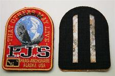 Parajumpers PJS Patch Aufnäher Mantel Jacke Long Klett Logo Emblem Parajumper R