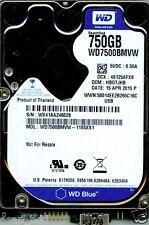 WESTERN DIGITAL USB 3.0 750GB WD7500BMVW-11S5XS1,  HB0TJHB