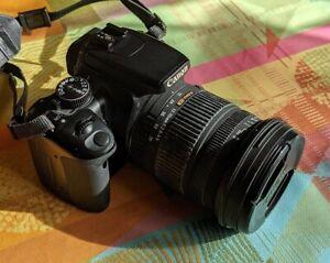 Canon EOS 400D, Spiegelreflexkamera, Inkl. Zubehörpaket, 2 Objektive, Tasche