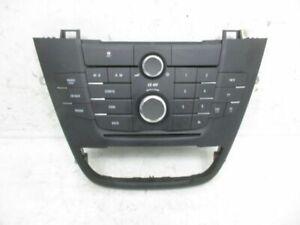 Radio Control Panel Car Radio Vauxhall Insignia 2.0 CDTI 13321292