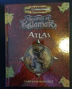 Kingdoms of Kalamar Atlas Campaign Resource by Kenzer & Co. d20 D&D Pathfinder