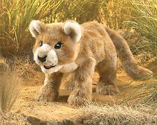 Folkmanis Lion Cub Hand Puppet Brown Tan White Cat Stuffed Animal 3yrs+ NEW