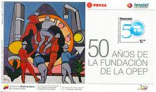 Venezuela 2010 OPEC 50th Anniversary, Paintings, Souvenir Sheet, SC1710, MNH