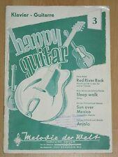 Happy Guitar 3  Klavier Guitarre - Red River Rock / Sleep Walk / Sun Over Mexico