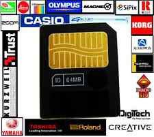 64M SMARTMEDIA CARD-Speicherkarte Tarjeta KORG-YAMAHA-Keyboards-ROLAND BOSS-Zoom