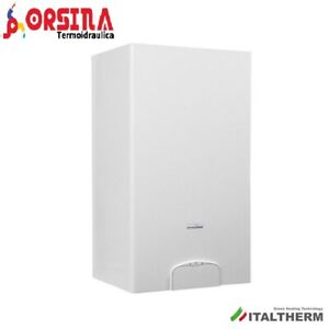 Caldaia a gas metano Condensazione City Plus 30 kw HE Italtherm + Kit Fumi