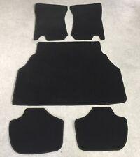 Autoteppich Fußmatten Kofferraum Set Ford Capri 2 - 3  schwarz schwarz neu 5tlg.