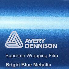 ( 23,02€/m ²) Avery Supreme ENVOLTURA FILM Brillante Bright Blue metálico