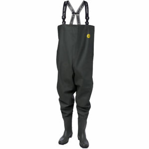 Viking Rubber Sport Chest Waders Fishing Green