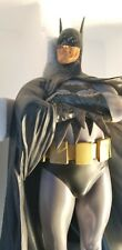 Batman Alex Ross Dark Crusader Full Size Statue Displayed