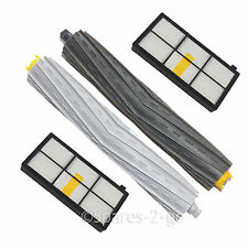 Beater Bar & Brushroll + 2 x Filters Kit for iRobot Roomba 800 900 Series Vacuum