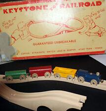 VINTAGE 1940'S KEYSTONE RAILROAD SET MODEL 415