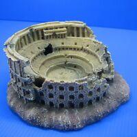 Roman Coliseum Cave Aquarium Decorations - Arena Colosseum Fish Tank Decor Small