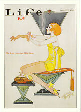 ROBERT  OPIE  ADVERTISING  POSTCARD  -  LIFE  MAGAZINE
