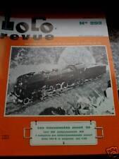Loco Revue n°292 1969 Treni e vagoni Grues serie 900 VB