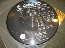 "Christian Death 10"" Skeleton Kiss EP Rozz Williams rare picture disc '92 ltd #'d"